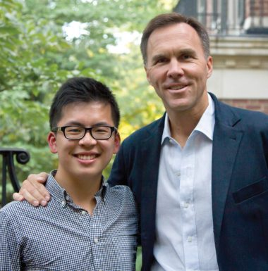 Sammy Lau and Bill Morneau - web