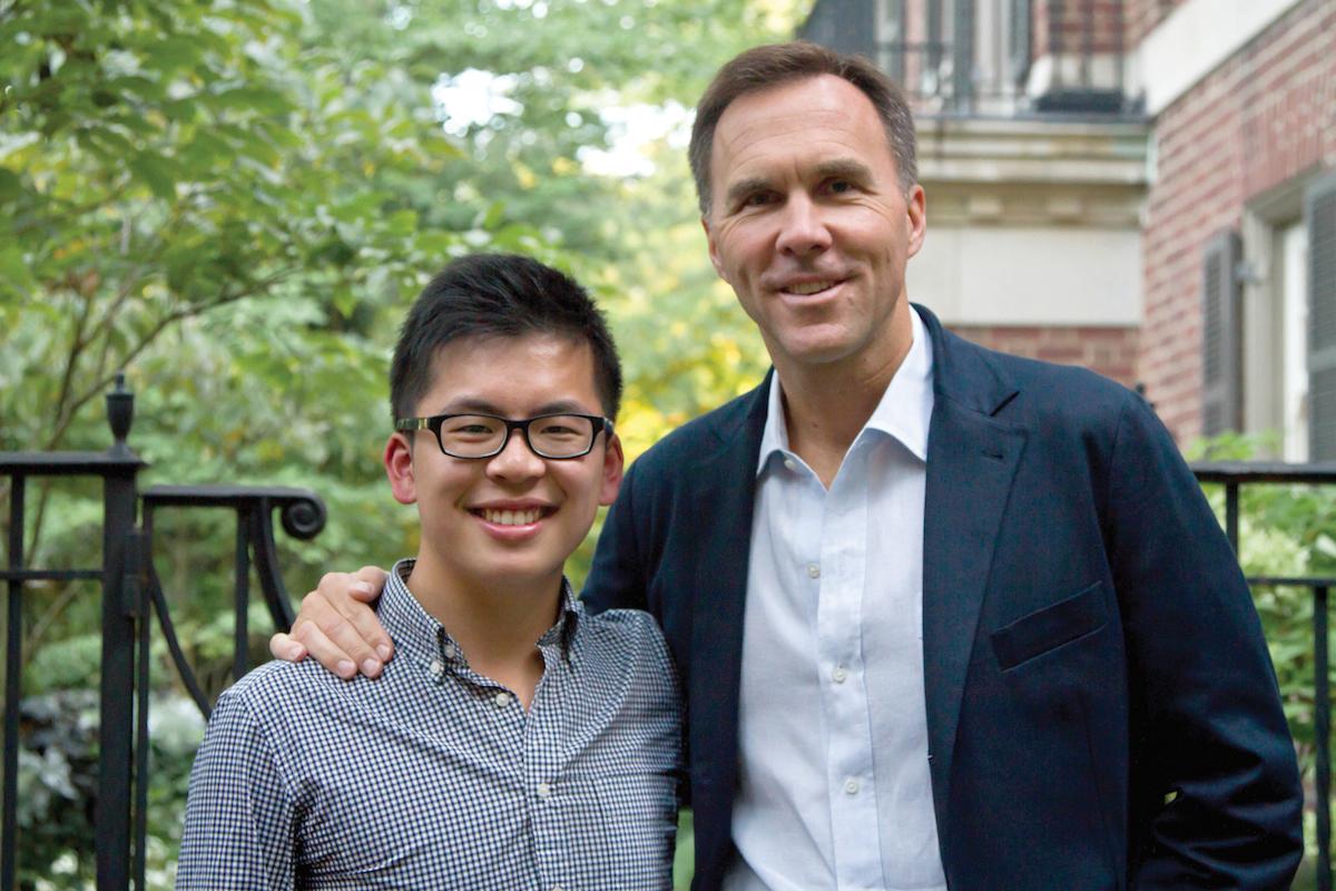 Sammy Lau & Bill Morneau