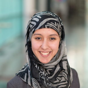 Sara Abdessamie - Boursière Loran à l'Université Dalhousie