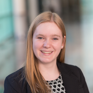 Taylor Lynn Curtis - Boursière Loran BMO Marchés des capitaux 2016 - Université McGill